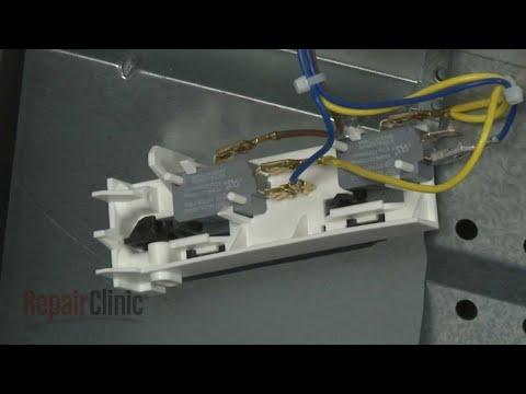 Door Switch Holder - Kitchenaid Microwave #KMBP100ESS01