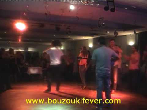 African dude singing Greek at Mihalis Tavern - S' ANAZITO STI SALONIKI