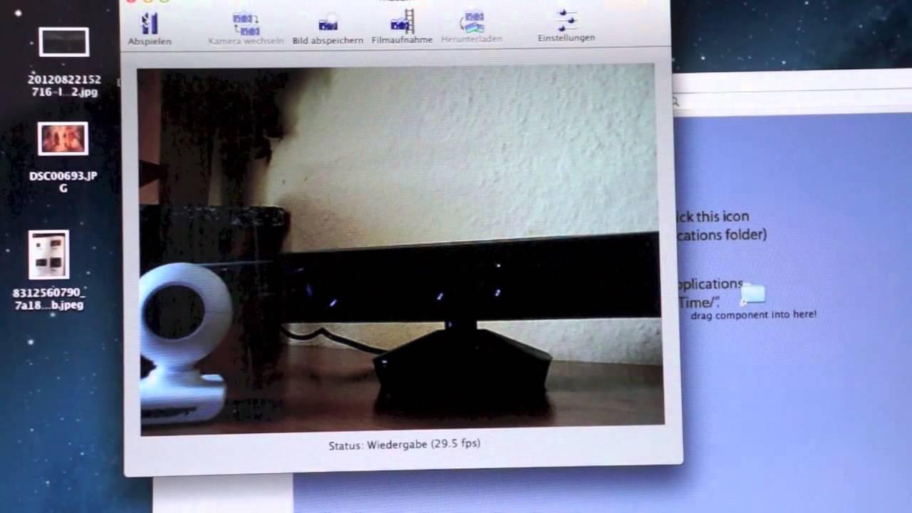 Eye toys / Kinect am Mac anschließen