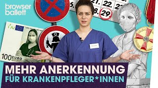 Mehr Anerkennung für Krankenpfleger*innen