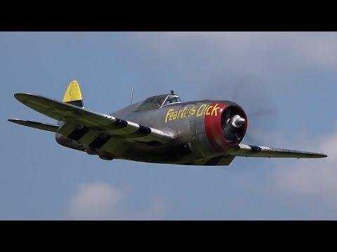 RC P-47 Razorback Moki 250cc