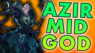 NEVER GIVE UP! HOW TO CARRY AS AZIR MID - League of Legends Commentary