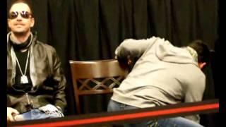 Joey Mcintyre impersonation of a fan