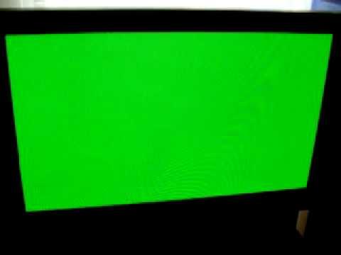 How To Repair Pioneer Plasma Tv Green Screen Youtube