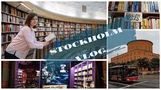 VLOG #5 СТОКГОЛЬМ || книжные и городская библиотека