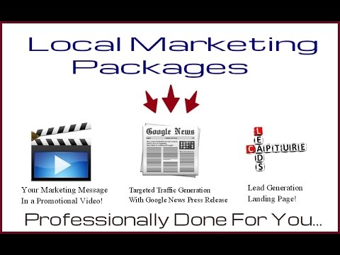 Local Online Marketing Packages For Small Businesses