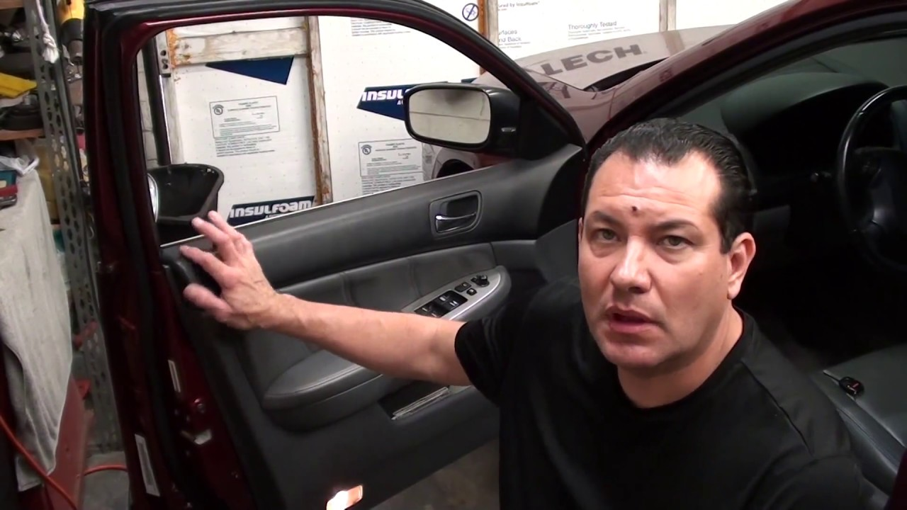 How to replace door lock actuator on a 2003-2007 Honda ...