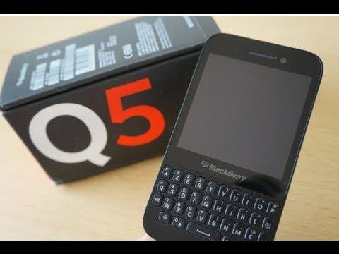 Test / Avis : BlackBerry Q5