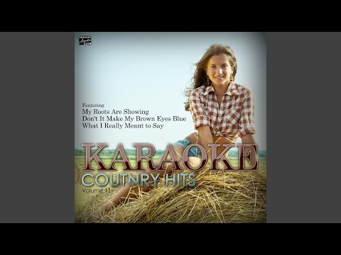 You Can Let Go (In the Style of Crystal Shawanda) (Karaoke Version)