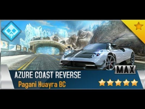 asphalt 8 - pagani huayra bc | season 9 • azure rev. - youtube