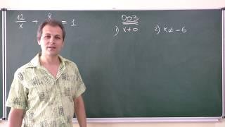 Алгебра 8. Урок 14 - Задачи на составление дробно-рациональных уравнений (Часть 3)