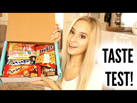 Trying Interesting Snacks from Croatia and Serbia!! | COCO Chanou