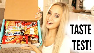 Trying Interesting Snacks from Croatia and Serbia!!   COCO Chanou