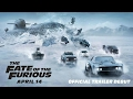 FAST AND FURIOUS 8 2017 & Soundtrack - Eminem: Say Goodbye