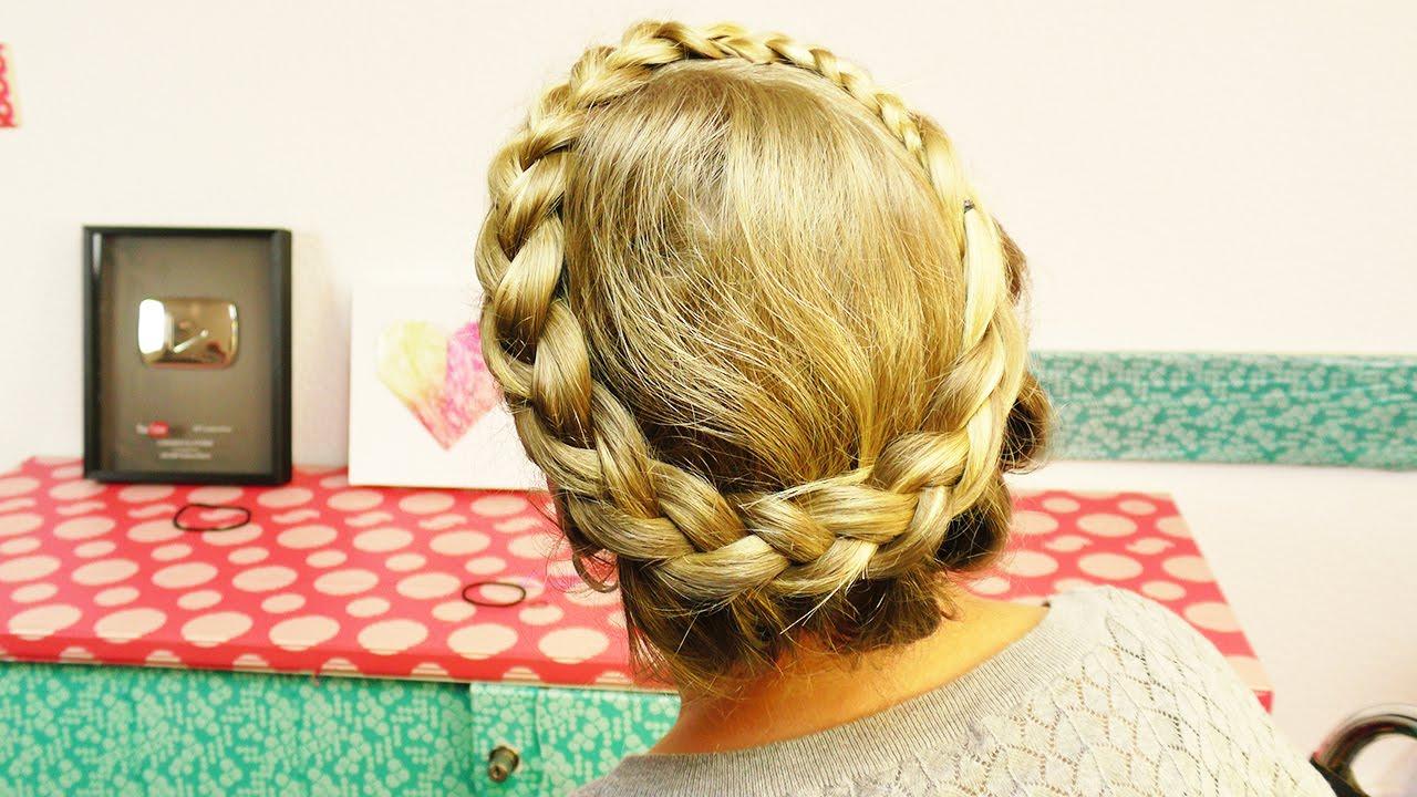 Kathis NEUE Frisur ♥ Geflochtener Haarkranz für den Sommer  Festival Style  für lange Haare