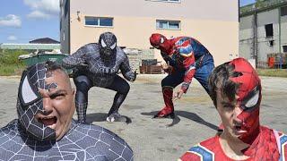The Amazing Spider-Man VS Black Spider-Man