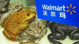 TOP 10 Weirdest things in a Chinese Walmart