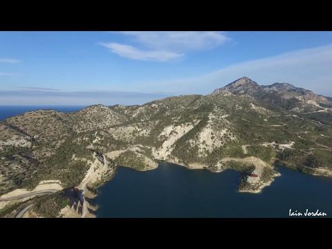 Gecitkoy Dam Camlibel North Cyprus Aerial Filming