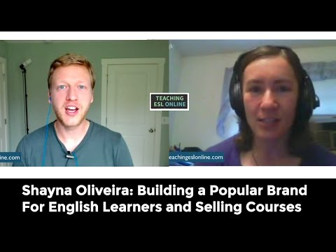 Shayna Oliveira: Building an Online Teaching Business in her Spare Time