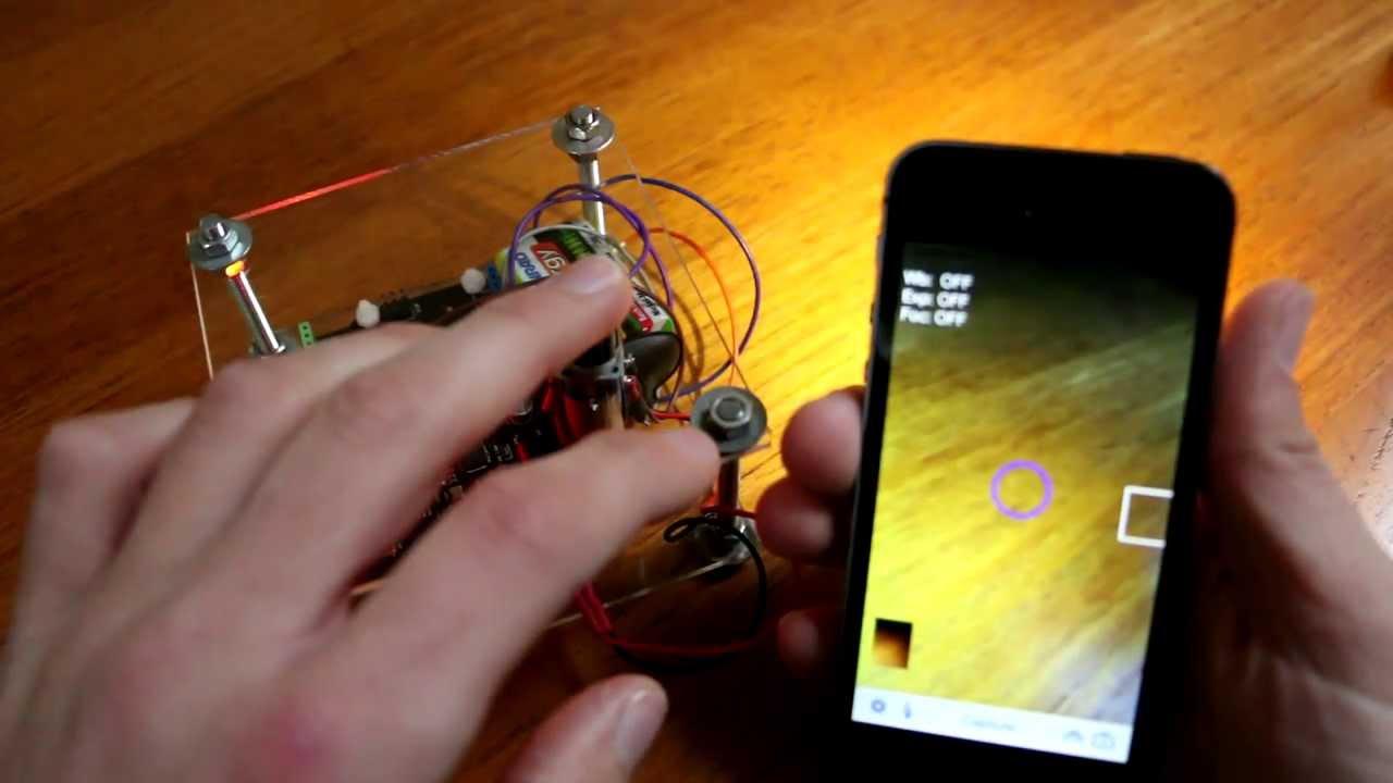 CameraPro/iPhone,iPad: Arduino based Bluetooth camera control