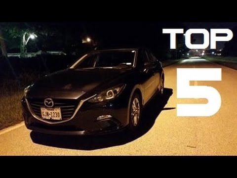 Top 5 Things I About My 2014 Mazda 3 i Touring! - YouTube