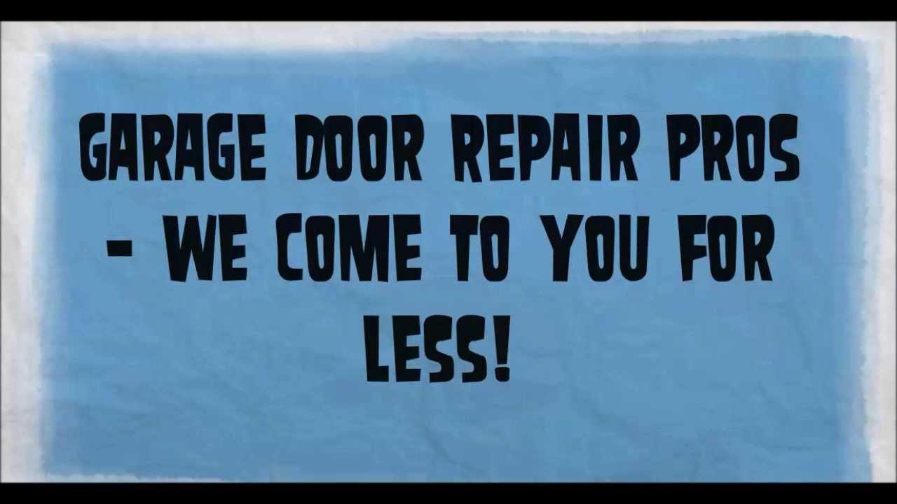 Garage Door Repair Escondido Call 760 203 3508 Youtube