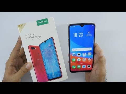 Oppo F9 Pro Unboxing & Overview (Indian Unit)