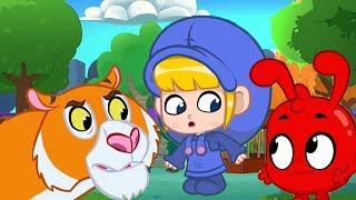 Morphle   Scary Animal House   Animals for Kids   Learning for Kids   Kids Videos