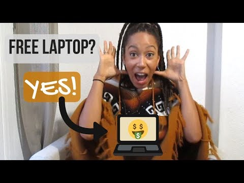 How To Get A Free Laptop | (Not Clickbait)