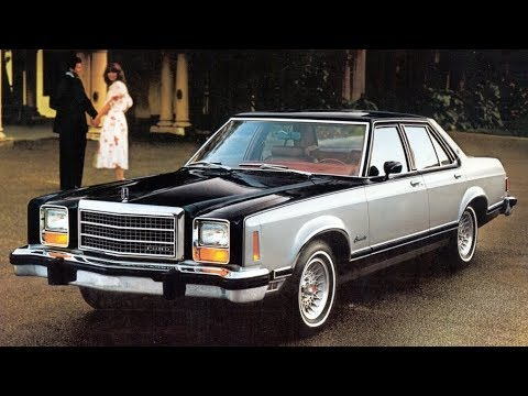 1975 1982 Ford Granada The Upscale Budget Car Youtube