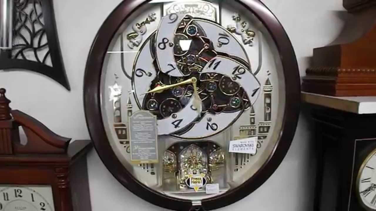 Seiko animated musical clock qxm291 b youtube amipublicfo Images