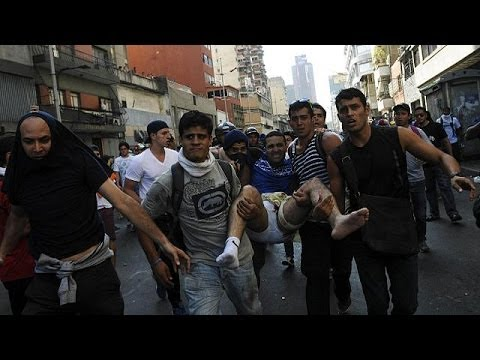 Venezuela: anti-government protest leader arrested on charges of murder and terrorism
