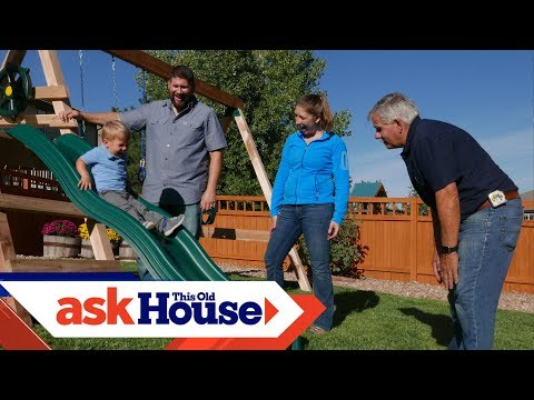 How to Build a Swing Set | Ask This Old House