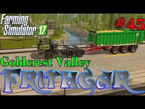 Let's Play Farming Simulator 2017, Goldcrest Valley #45: The Tatra Pheonix!