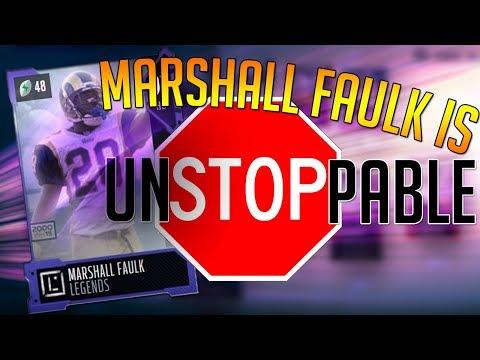 Madden 18 Ultimate Team :: Marshall Faulk Is UNSTOPPABLE! 90 OVR GOD SQUAD! Madden 18 Ultimate Team