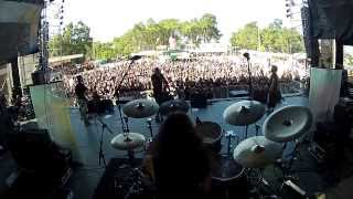 MINDLOCK - Live at Vagos Open Air 2012 (Band POV)