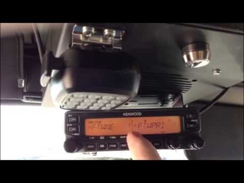 Repeat Kenwood TM-V71 - How to program a call channel by