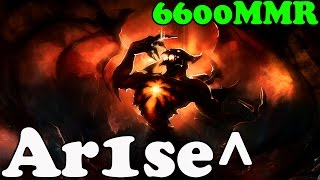 Dota 2 - Ar1se^ 6600 MMR Plays Shadow Fiend vol 4 - Ranked Match Gameplay