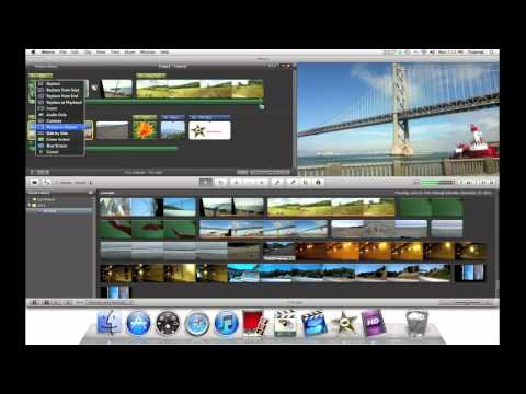 IMovie 11 - Putting Videos Side By Side