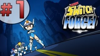 Let's Play Mighty Switch Force (3DS) Part 1