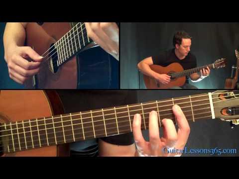 Van Halen 316 Guitar Lesson - Acoustic