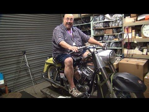 1965 panhead #167 74ci flh motor rebuild and bike repair harley by tatro machine