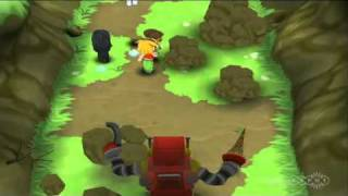 MySims Party (Wii) - Killer robot chase