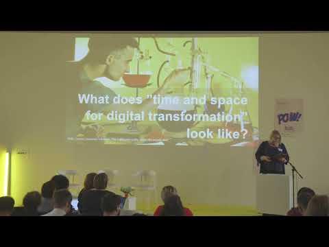 Finding space and time for digital transformation - Kajsa Hartig, Nordic Museum (SE)