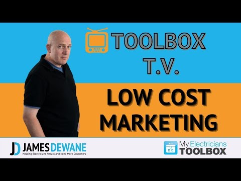 No and Low cost Marketing ideas for Electricians