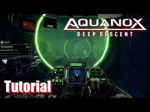 Aquanox Deep Descent - Tutorial Simulation - Learn the Basics |