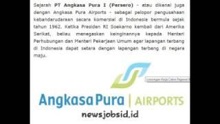 Lowongan Kerja Calon Pegawai BUMN PT Angkasa Pura I  (Persero) Tahun 2017