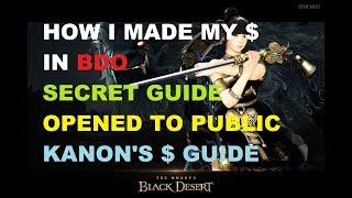 BDO - How I Made My Silver - 1hp Guide Now Opened to Public