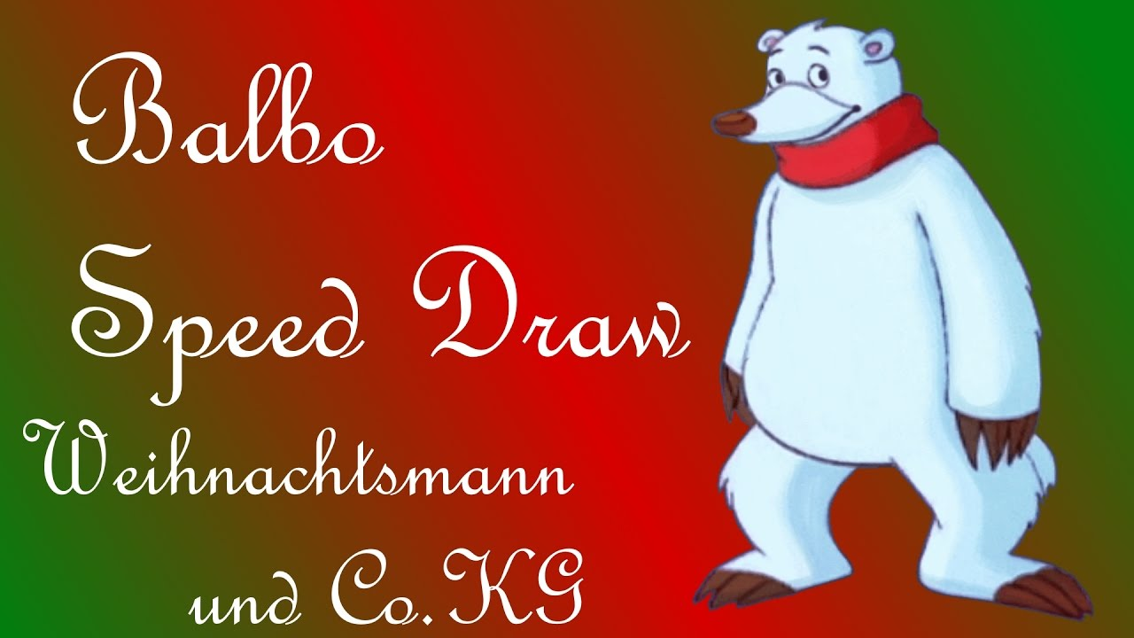 balbo speed draw weihnachtsmann co kg youtube. Black Bedroom Furniture Sets. Home Design Ideas