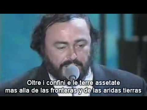 U2 & Pavarotti - Miss Sarajevo (subtitulado español)
